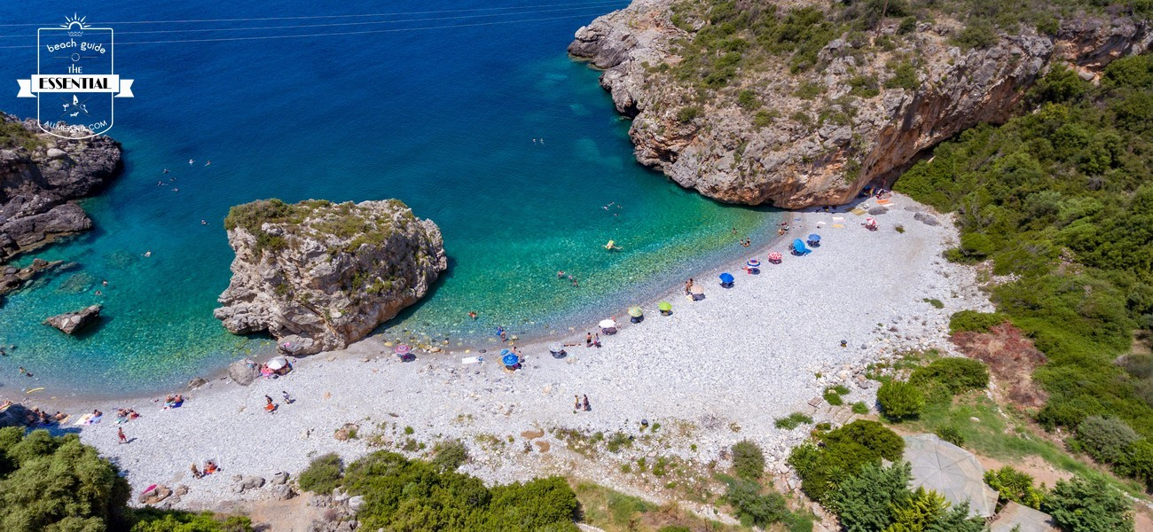 Foneas Beach Panorama