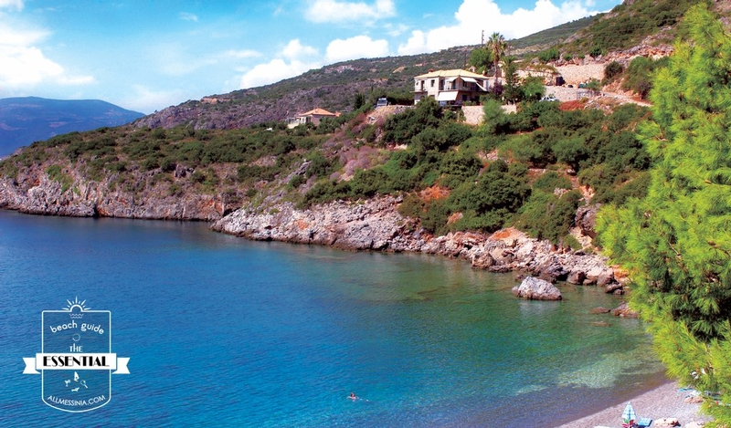 Delfinia Beach - A secret hidden paradise as seen from the north part