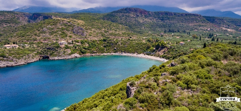 Delfinia Beach - The secluded cove