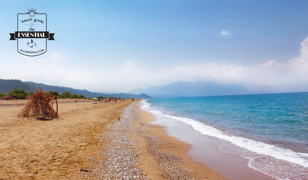 Elaia Beach Kyparissia -  Golden sand, tiny pebbles and crystal clear waters