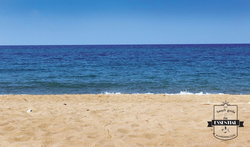 Elaia Beach Kyparissia - Beautiful sandy beach and calm sea