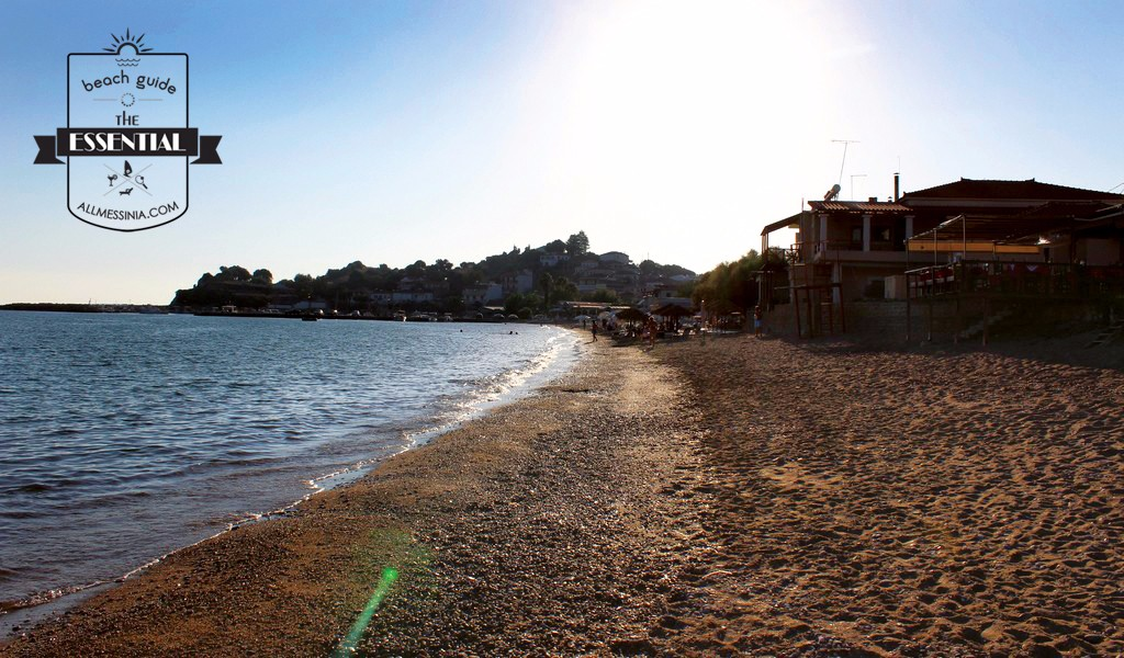 Finikounda beach - On the evening