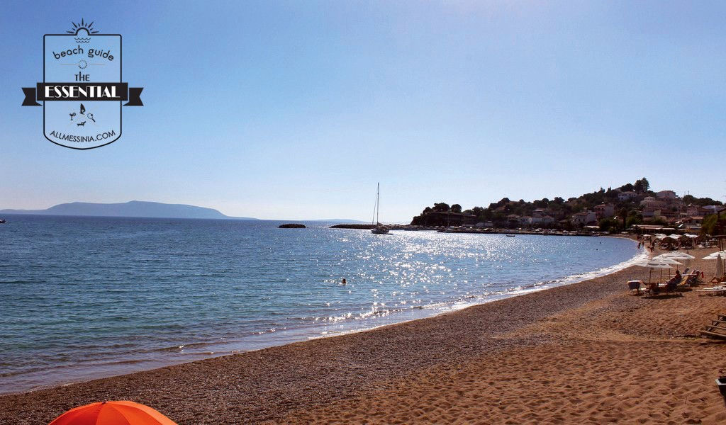 Finikounda beach - a wonderful beach on the picturesque village