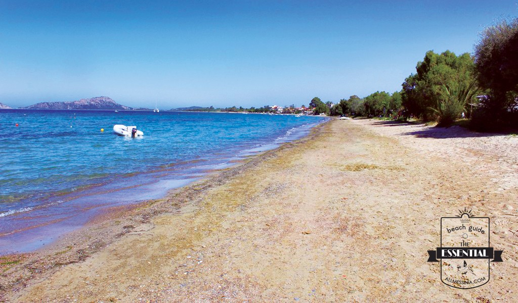 Gialova Bay- at the south part near camping site