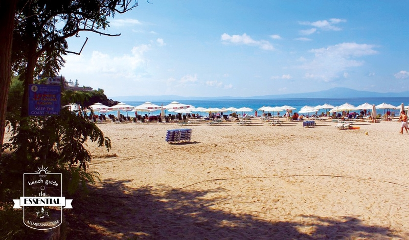 Kalogria Beach - Beautiful 150 meters long and 40 meters wide expanse of soft sand