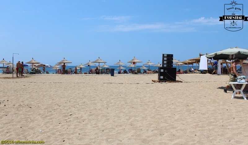 Lagouvardos Beach - Leisure time on the beach
