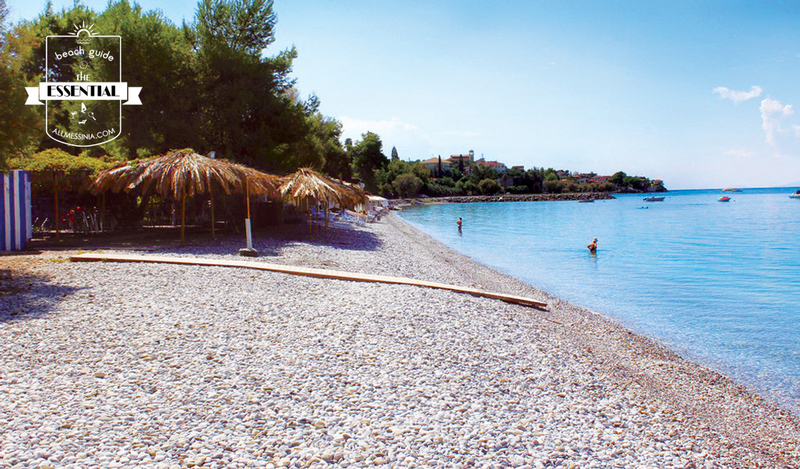 Mikri Mantinia Beach - Overview