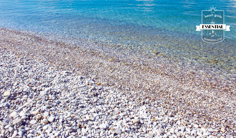 Mikri Mantinia Beach - A UNIQUE PEBBLE BEACH