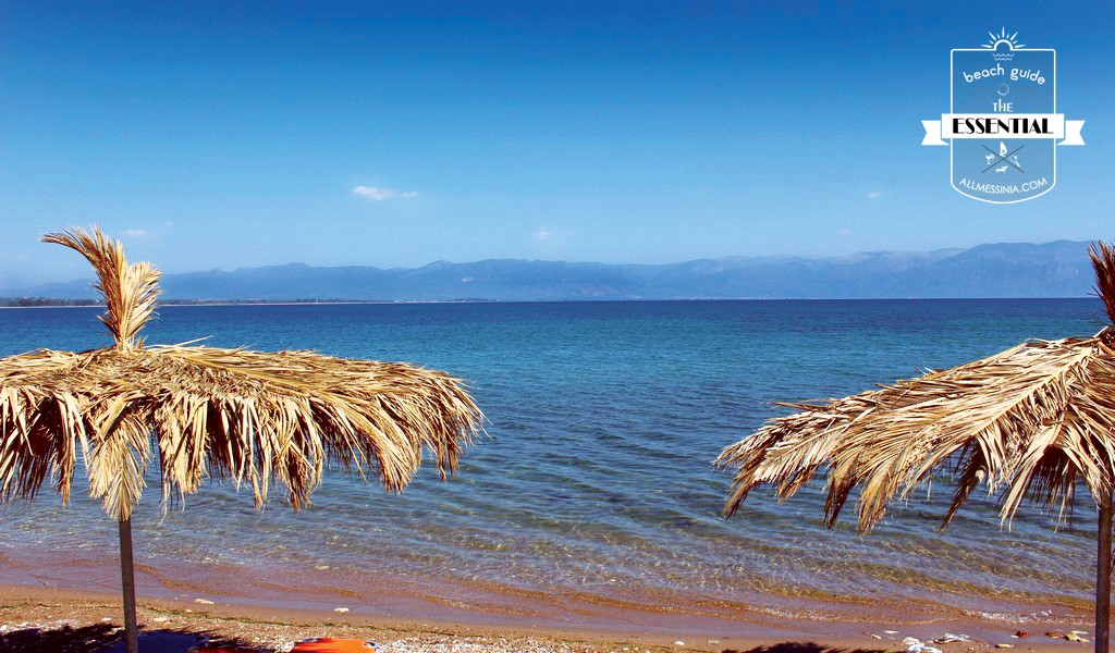 Petalidi Beach - The view of the Messinia Gulf