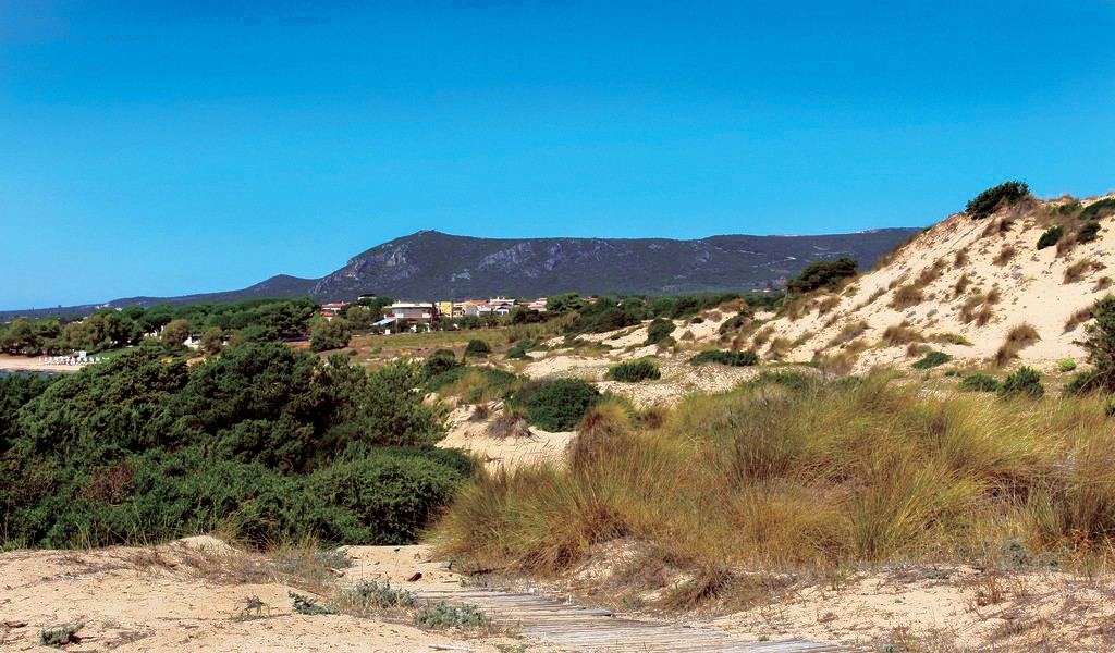 Petrohori Beach - North Side Dunes