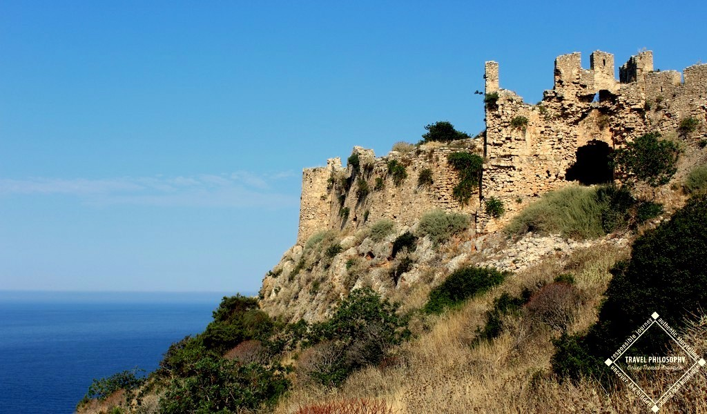 Old Navarino Castle -The Palaiokastro's Gate viewing the West