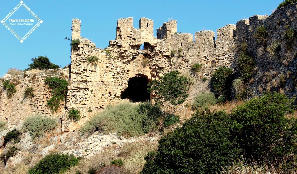 Old Navarino Castle - The Gate view
