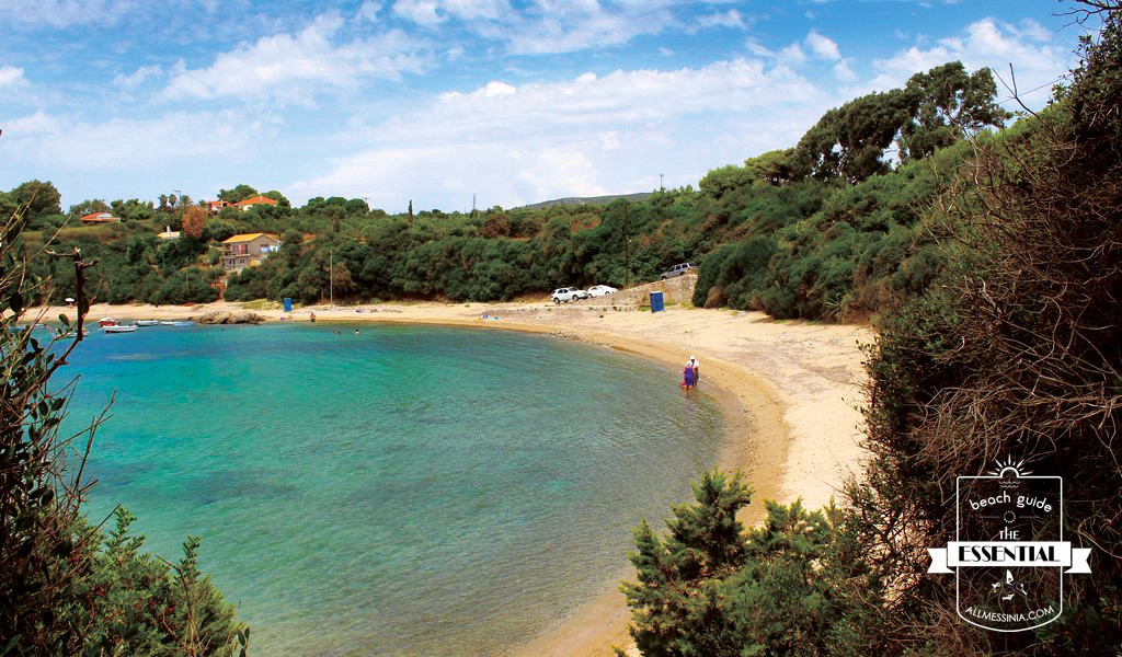 Vromoneri beach - Sandy beach just 6 km southern from Marathopolis